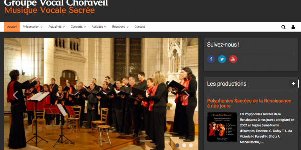 Groupe Vocal Choraveil