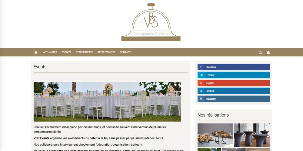 vbs conciergerie références