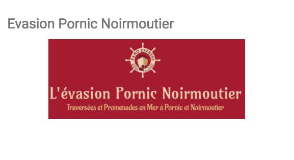 Evasion Pornic Noirmoutier  site réalisé par Utrasyd Informatique