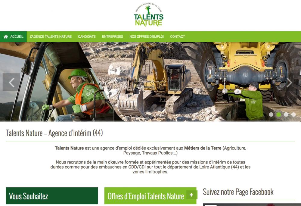 Talents Nature Agence d'Intérim en Loire Atlantique